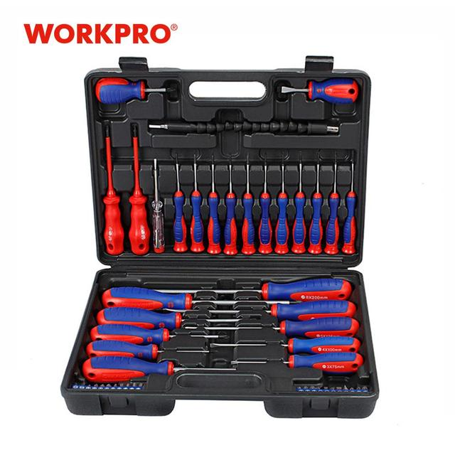 WORKPRO  49PC Screwdriver Set  New Arrival Screwdrivers Precision Screwdriver for Phone Test Pencil 1