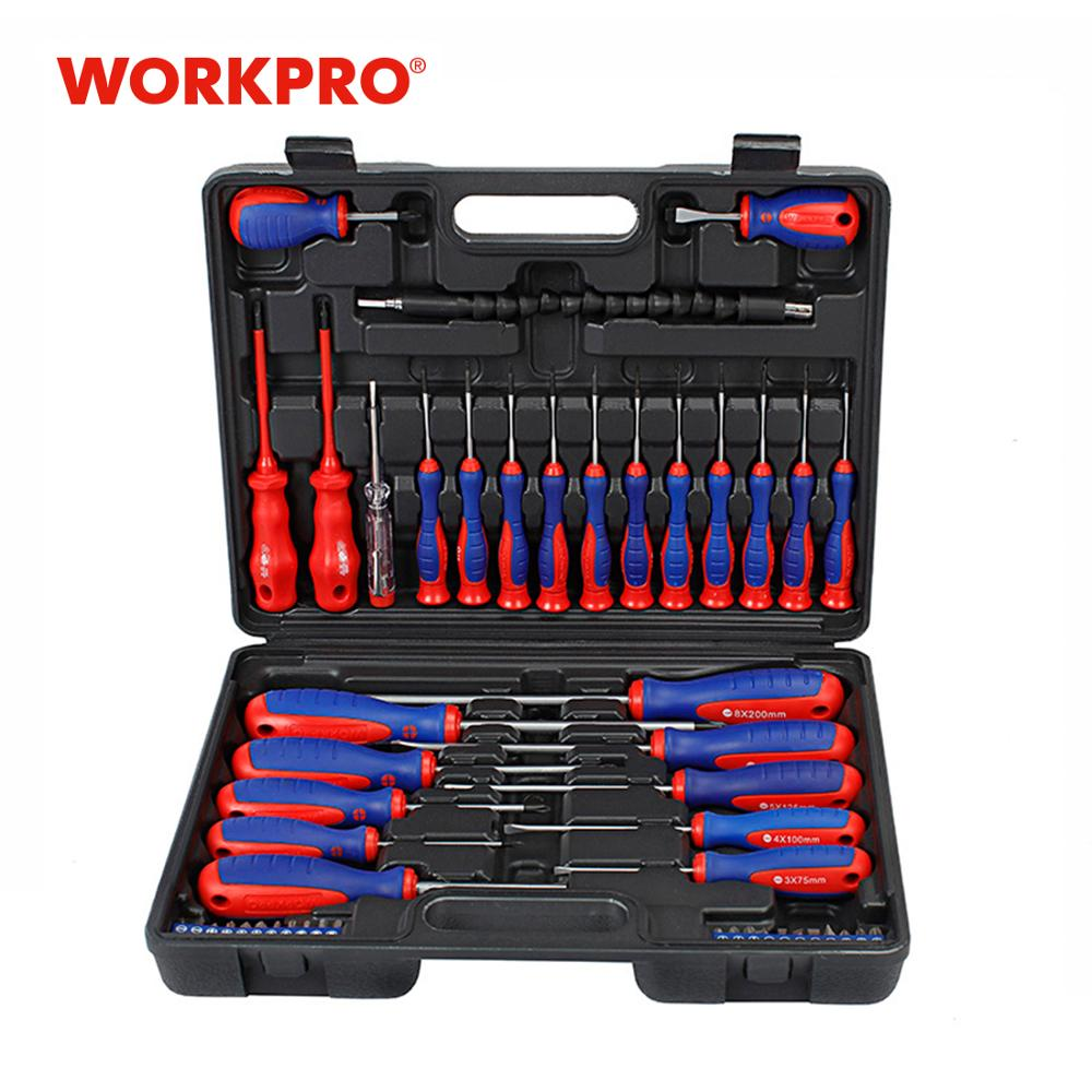 WORKPRO  49PC Screwdriver Set  New Arrival Screwdrivers Precision Screwdriver For Phone Test Pencil