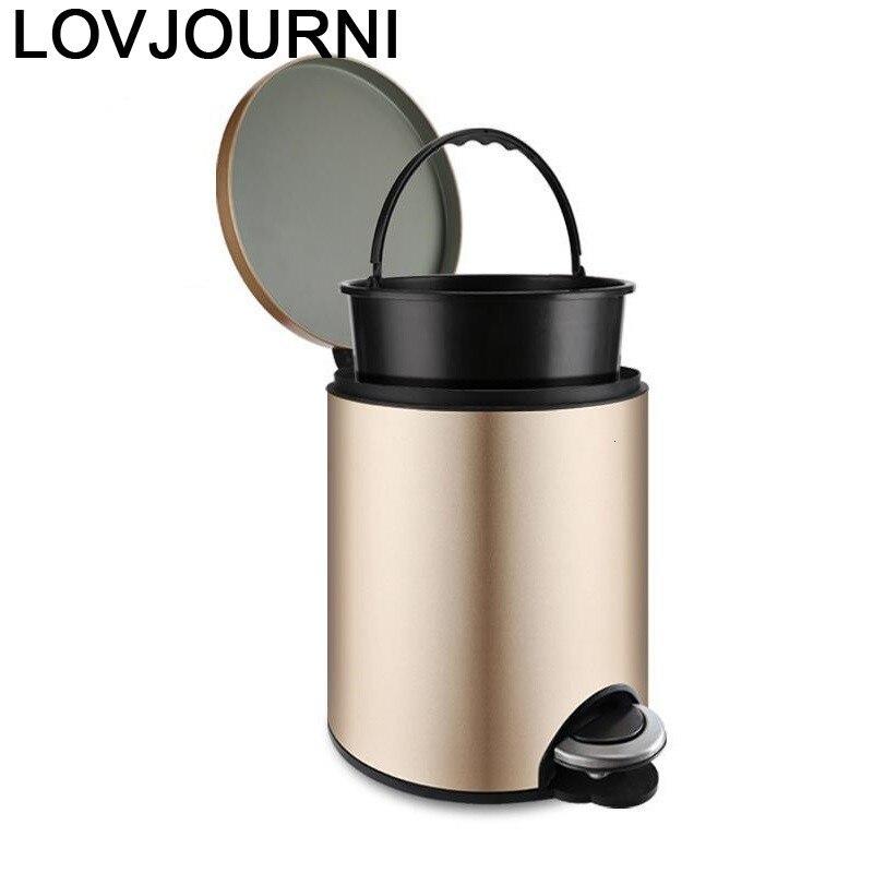 Cocina Reciclaje Pattumiera Raccolta Differenziata Garbage Holder De Pedal Cubo Basura Dustbin Recycle Lixeira Trash Bin