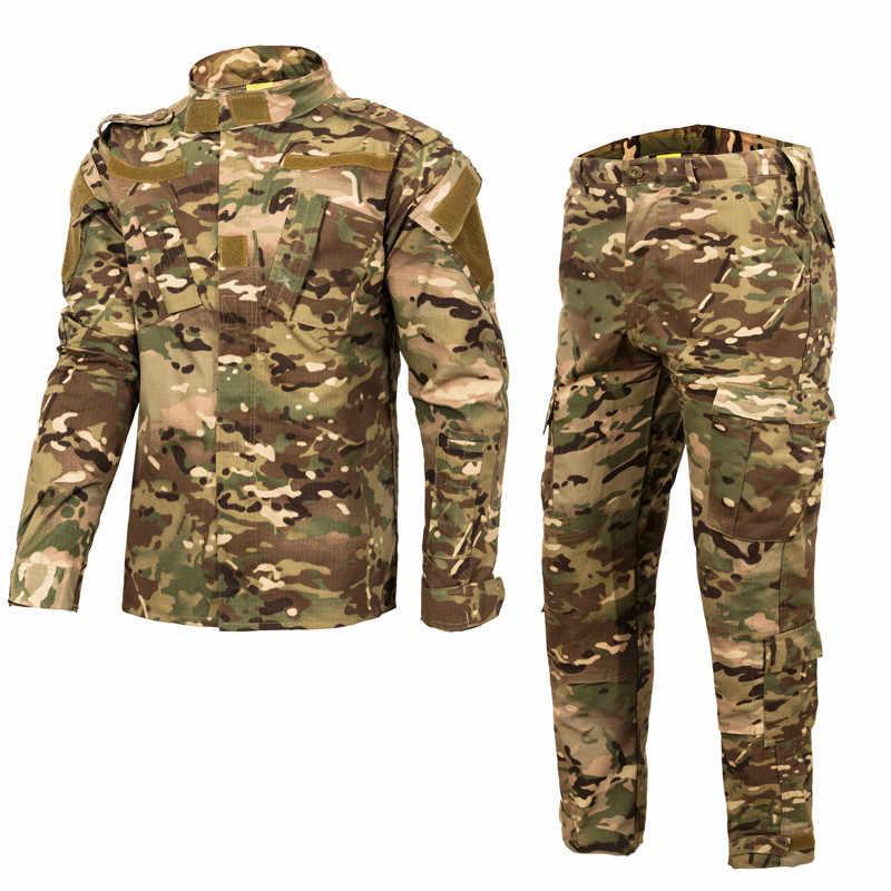 メンズ戦術的な衣類軍服海軍シール陸軍制服男性 Militar 迷彩、戦術的なジャケット戦闘戦術的なシャツトップ