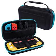 Дорожные мини Жесткая Сумка из eva для Nintendo Switch Lite Портативный переноски NS сумка Стекло защитный силиконовый чехол для Nintendo Switch Lite