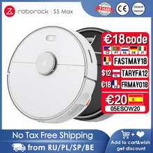 Roborock S5 Max Robot Vacuum Cleaner WIFI APP Control Automatic Sweep Carpet Dust Robotic Collector Mopping Sweeping for Home