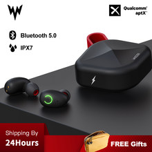 B6 IPX7 Wireless Waterproof headset bluetooth headset TWS Earphones 5.0 Support Aptx/AAC 45h Playing Time For iOS/Android(China)