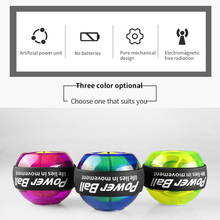 LED Wrist Ball Trainer Gyroscope Strengthener Gyro Power Ball Arm Exerciser Power ball Exercise Machine Gym Fitness Equipment