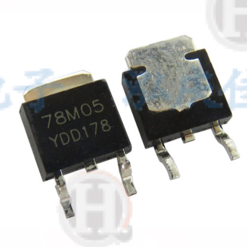 L78m05cdt to-252 l78m05 to-252 78m05 ic reg linear 5v dpak tubo regulador de tensão 100% novos 10 peças