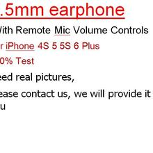 Earphone Stereo with Mic for 6s-Plus 10pcs Paper-Box Wired Sports-Earbuds
