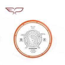 YIKUN диски PDGA одобренный диск для гольфа черепаха-линия среднего диапазона Томагавк Черная пятница