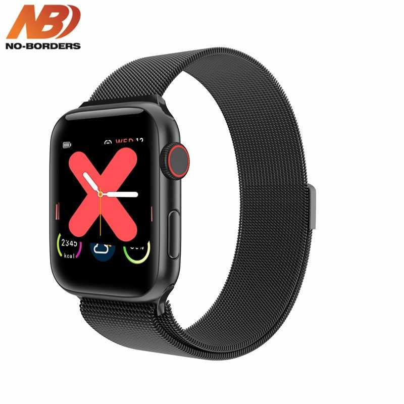 W68 44mm IWO Smart Watch Men Woman Heart Rate Monitor Call Message Reminder 1:1 Series 5 For Android iPhone PK IWO 8 12 15
