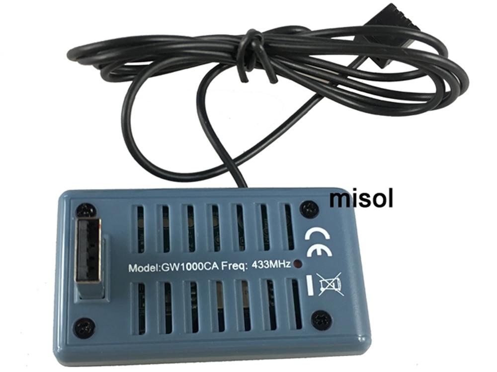 WiFi brána MISOL SmartHub s teplotou, vlhkostí a tlakem - Měřicí přístroje - Fotografie 4