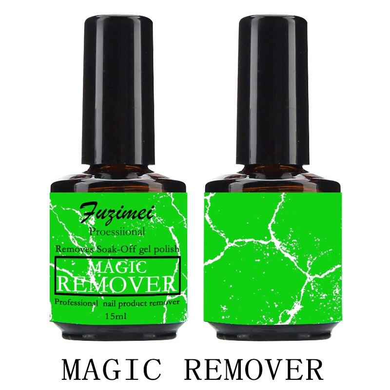 Nail Polish Remover 15ML Soak Off Magic Remover Gellak Cleaner Nail Uv Gel Nails Wipes Quita Esmalte Nail Remover Dispenser