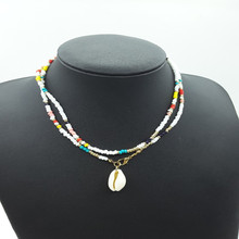Fashion Ocean Beach Necklaces accesorios mujer bijoux femme beads Bohemian Natural shells necklaces women