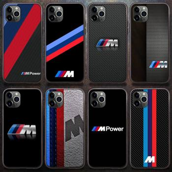 Sports car BMW Phone Case for iPhone 8 7 6 6S Plus X 5S SE 2020 XR 11 12 Pro mini pro XS MAX image