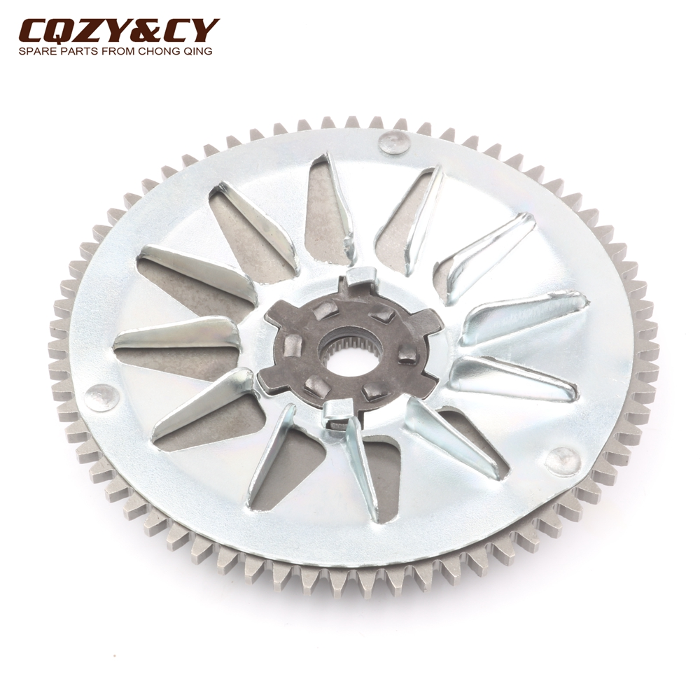 High Quality Variator Pulley / Fan Wheel For Peugeot Speedake 50 Speedfight Vivacity Zenith TKR Squab 50cc 100320300