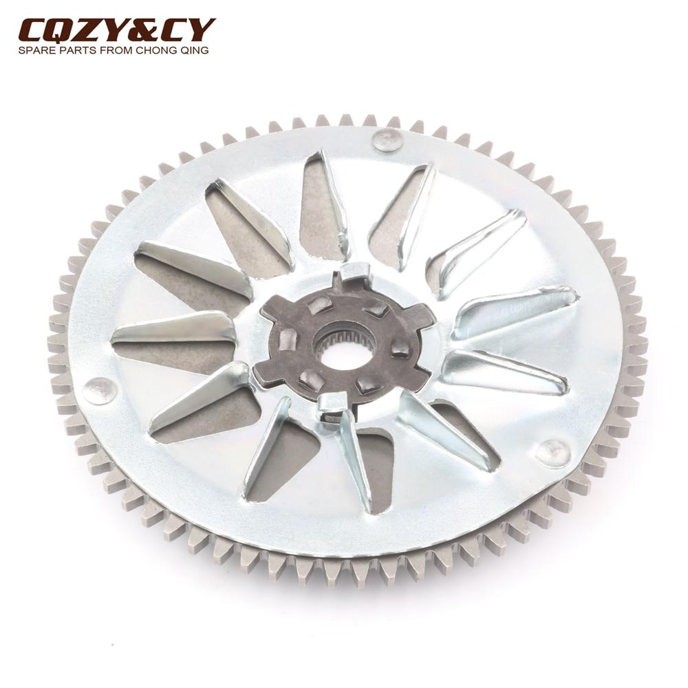 High Quality Variator Pulley / Fan Wheel For Peugeot Speedake 50 Speedfight Vivacity Zenith TKR Squab 50cc 100320300