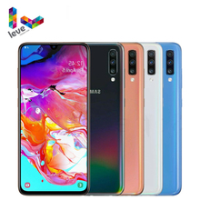 Unlocked Samsung Galaxy A70 A7050 2SIM Mobile Phone 6 7 #8243 6 8GB RAM 128GB ROM Octa Core NFC 3 Rear Camera 32MP Android Smartphone cheap Not Detachable Other CN(Origin) Refurbished Fingerprint Recognition ≈32MP 4500 Adaptive Fast Charge english Russian German