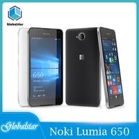 Nokia lumia 650 reacondicionado Original Lumia 650 Quad-core 16GB ROM 1GB RAM teléfono 4G WIFI GPS 8MP Cámara teléfono celular envío gratis
