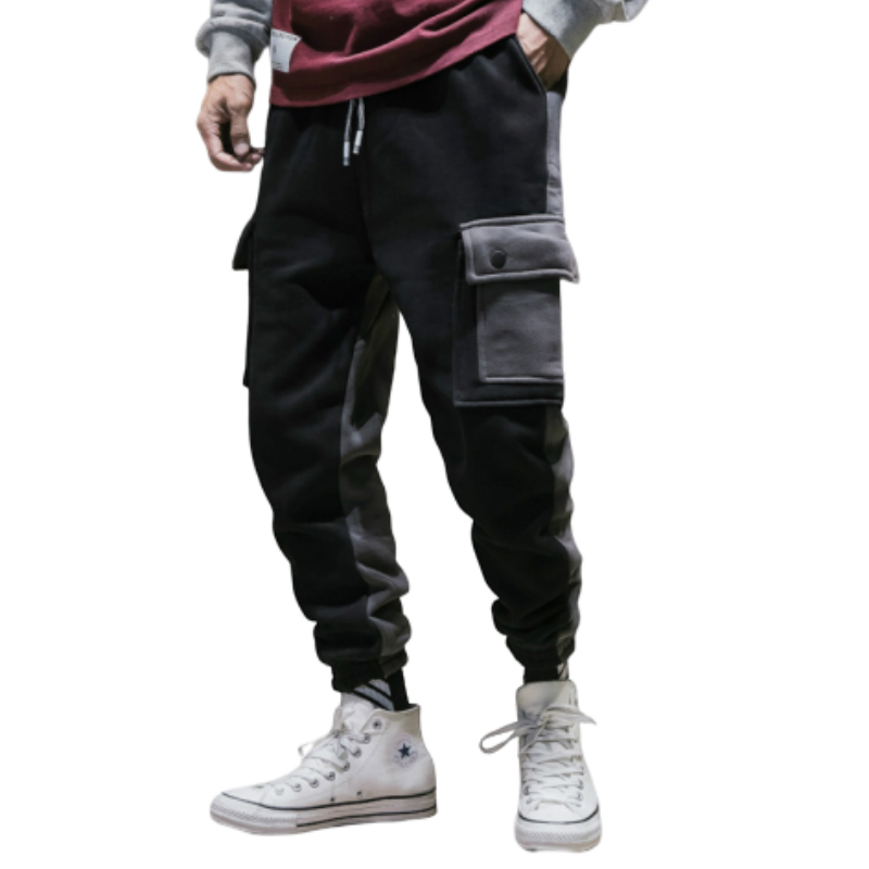 Men's Clothing 2018 Autumn New Casual Men's Plus Velvet Tooling Sports Pants Youth Middle Waist Cotton Warm Loose Harem Pants