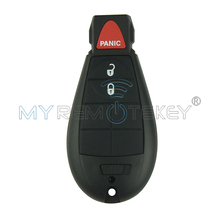 Best price New type keyless entry remote key fob Fobik 2 button with panic for Chrysler Dodge Jeep IYZ-C01C Free Shipping