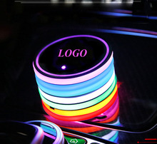 2PCS/set for Holden HOLDEN LED Car Cup Bottle Holder Pad Mat Automobiles Coasters Interior Atmosphere Lights Colorful roger holden chadderton mill
