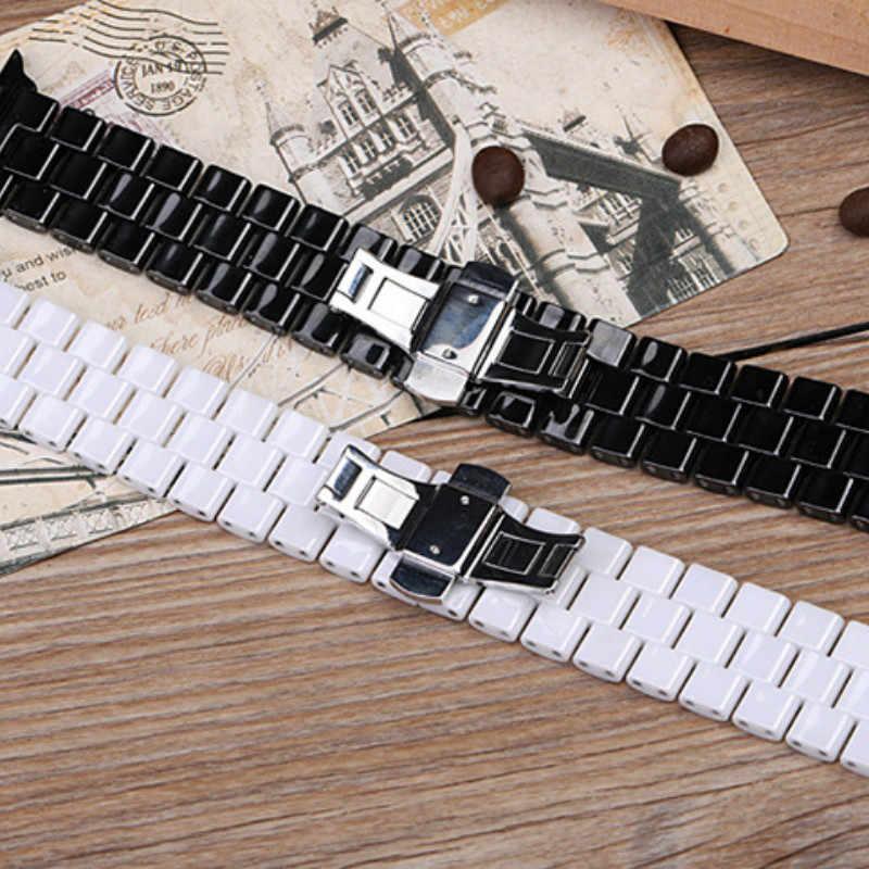 2019 新セラミックアップル iWatch ため時計バンドスーツ 1/2/3/4/5 アップル時計バンド 38 ミリメートル 42 ミリメートル iphone 時計バンド