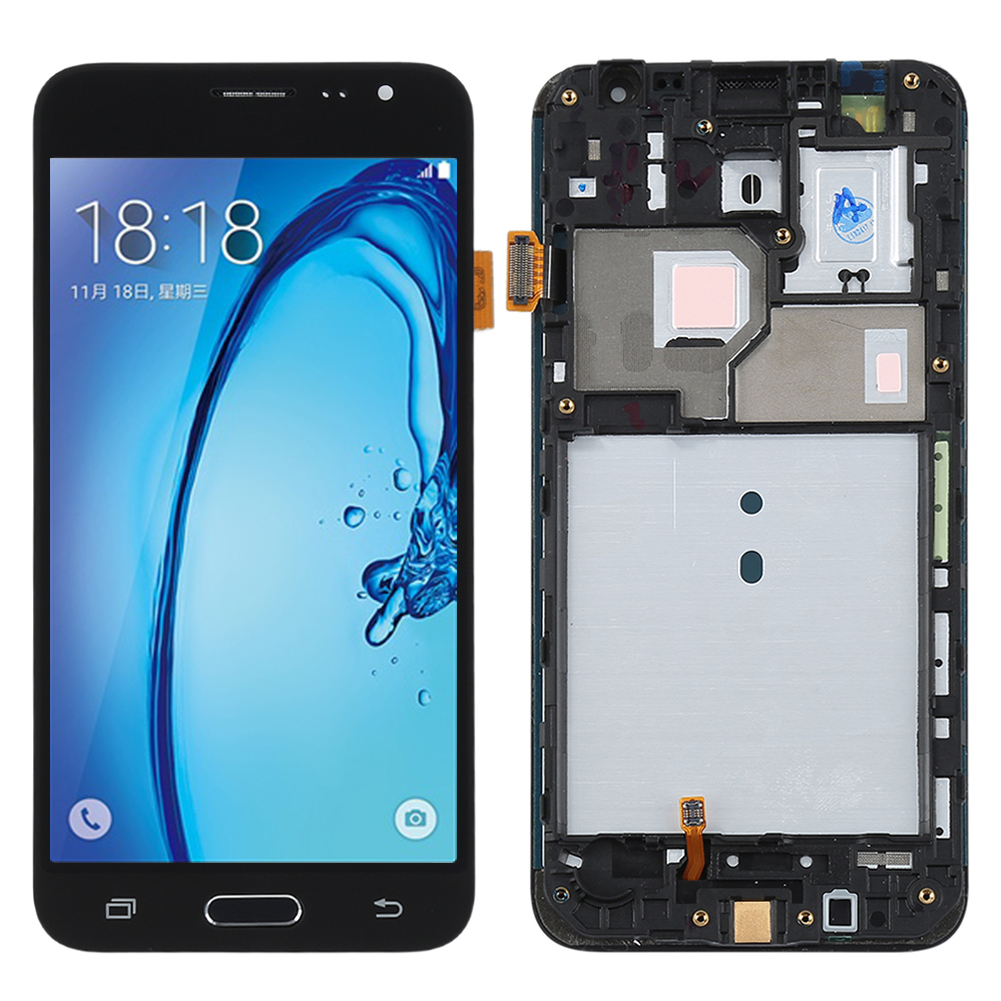 Lcd Replacement Display Touch Screen Display Assembly &Frame For Samsung Galaxy J3 2016 J320
