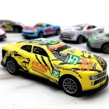 Горячий подарок сплав гоночный автомобиль откатная машина детские игрушки Мини гоночные игрушки автомобиль песочница модель детские подарки