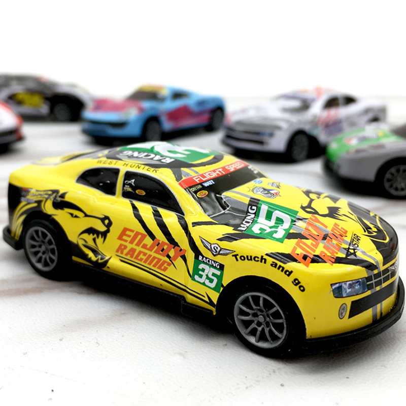 Hot Gift Alloy Car Racing Pullback Car Kids Toys Mini Racing Toys Car Sandbox Model Kids Gifts