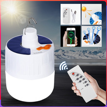 Led Camping Light Lantern Led Portable Lighting Powerful Flashlight Solar Rechargeable Bulb Emergency Outdoor Lighting Fishing cheap CANMEIJIA CN(Origin) ROHS Rechargeable LED Bulb Lithium Metal LED Bulbs Portable Lanterns 1 Year Remote Control Solar Charge