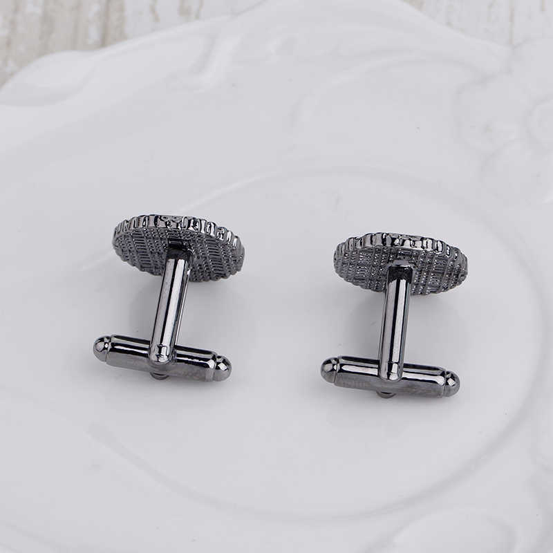 2 Pcs/ Set Cross Smooth Luxury Knot Cufflinks High Quality Men Fashion Shirt Buttons Cuff Links Men's Crabs Jewelry Wholesale