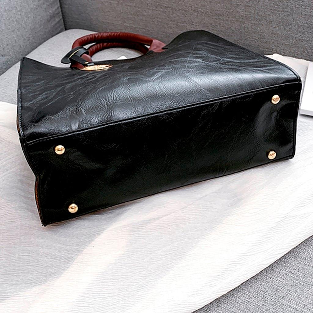 Ensemble sacs 3 pièces mode en cuir PU dames sac à main 85