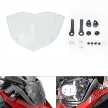Motorcycle Transparent Headlight Guard Head light Protector Cover For BMW R 1200 GS R1200 GS R1200GS Adventure LC 2013 2014-2020 motorcycle accessories headlight guard protector bracket for bmw r1200gs r1200 gs r 1200 gs lc adv adventure 2013 2014 2015 2016