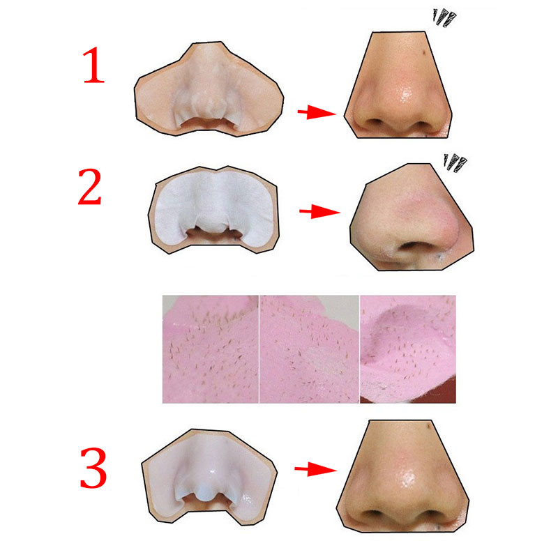 Newly 3 Steps Nose Mask Remove Blackhead Kits To Shrink Clean Pores T Zone Care Set For Women Men CTN88