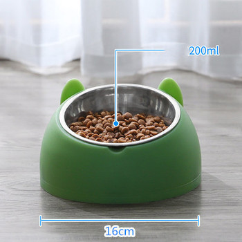 600ml Pet Dog Cat Automatic Feeder Bowl for Dogs Drinking Water Bottle Kitten Bowls Slow Food Feeding Container Supplies 12