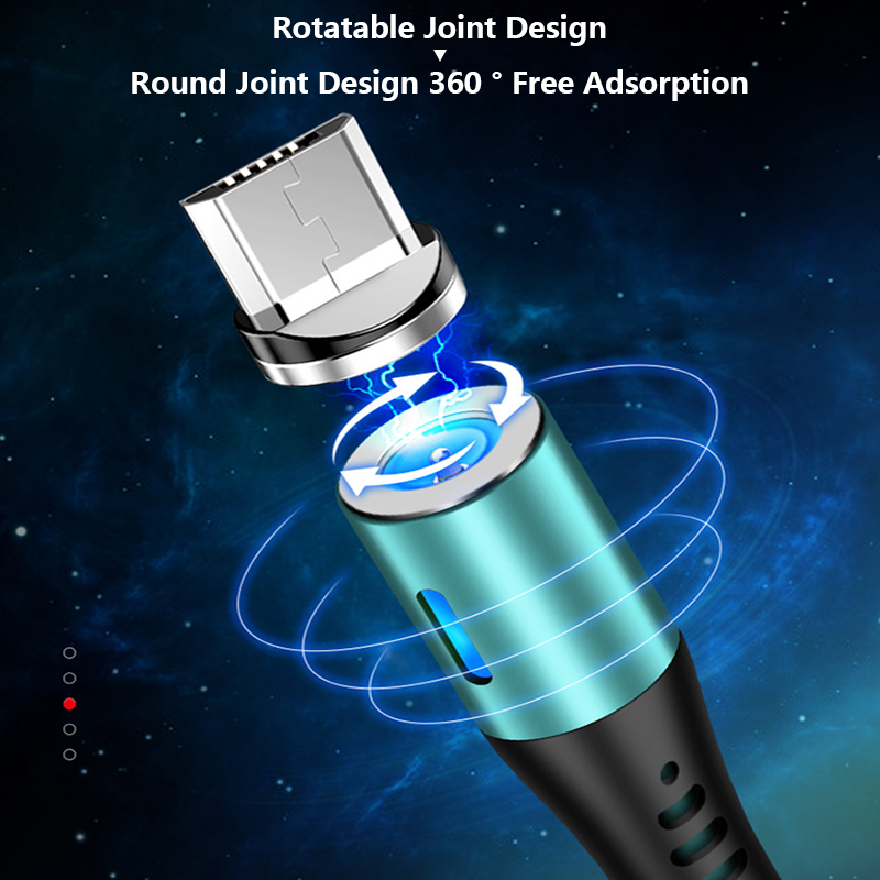 Hot USB Cable 1M Mobile Phone Silicone Magnetic Fast Charging Liquid USB Type C Charging Cable(With Head) For IPhone Android