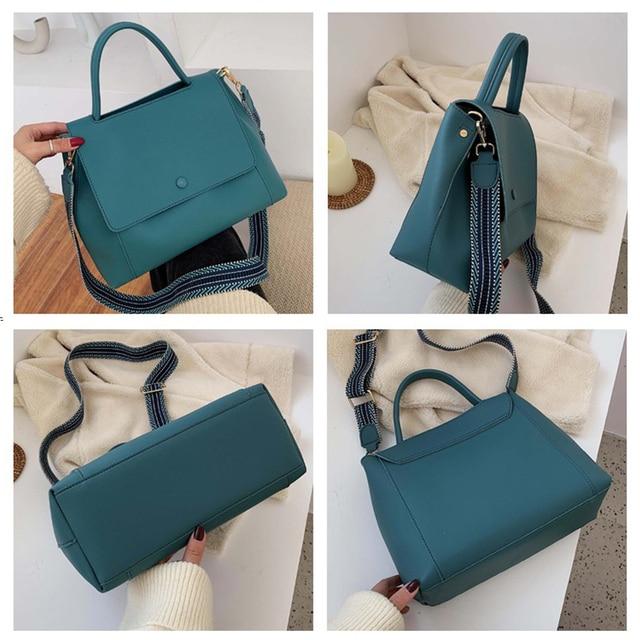 Fashion Simply PU Leather Crossbody Bag For Women  3