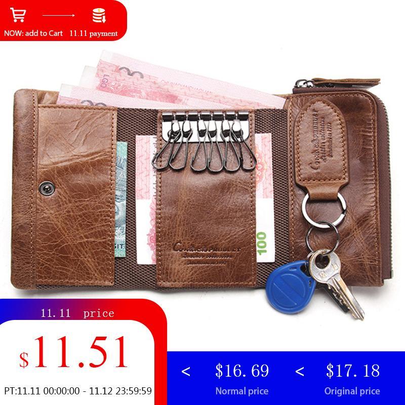 CONTACT'S Men Wallet Key…