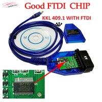 ForVAG-KKL 409 USB FTDI OBD2 KKL409 Diagnose Scanner Für VAG -Serie Auto V-W/A-udi/S-essen Diagnose Kabel KKL 409-kabel