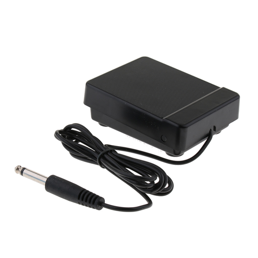 61key 88key Electrical Piano Electronic Keyboard Sustain Pedal Foot Switch Black Low Noise And Non-slip Base