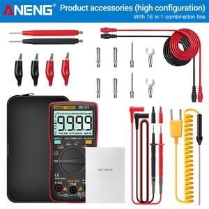 Image 5 - ANENG AN8009 Digital Multimeter Transistor Tester Kondensator True RMS Tester Automotive Elektrische Kapazität Meter Temp Diode