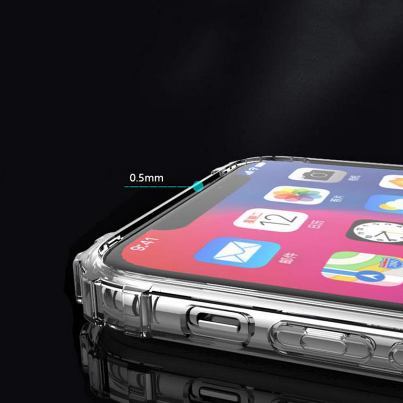 Heavy Duty Clear Case for iPhone 11/11 Pro/11 Pro Max 9