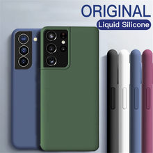 Чехол для Samsung S21 Ultra Plus S 21 Ultra Plus самсунг с 21 с21 ultra ультра плюс корпус жидкий силиконовый мягкий Ультра тонкий чехол из ТПУ для Galaxy S21 Ultra Plus S 21 ...