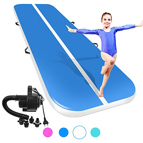 Promotion ! Inflatable 4M Airtrack With Pump Free Shipping Home Use Air Mat Floor Low Price Gym Mat For Gymnastics Waterproof
