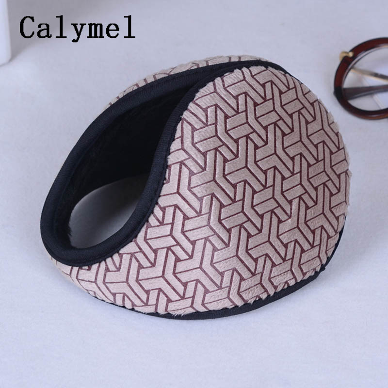 Calymel Fashion Unisex Earmuffs Ear Muffs Fleece Earwarmer Winter Ear Warmers Warm Headphones меховые наушники