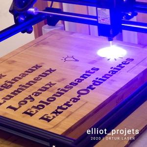 Image 3 - Stampante personale di Logo del Laser dellincisore della taglierina del Laser di CNC dellincisore del Laser di OLM 2 Ortur 7/15/20W per le macchine utensili dellincisione del metallo