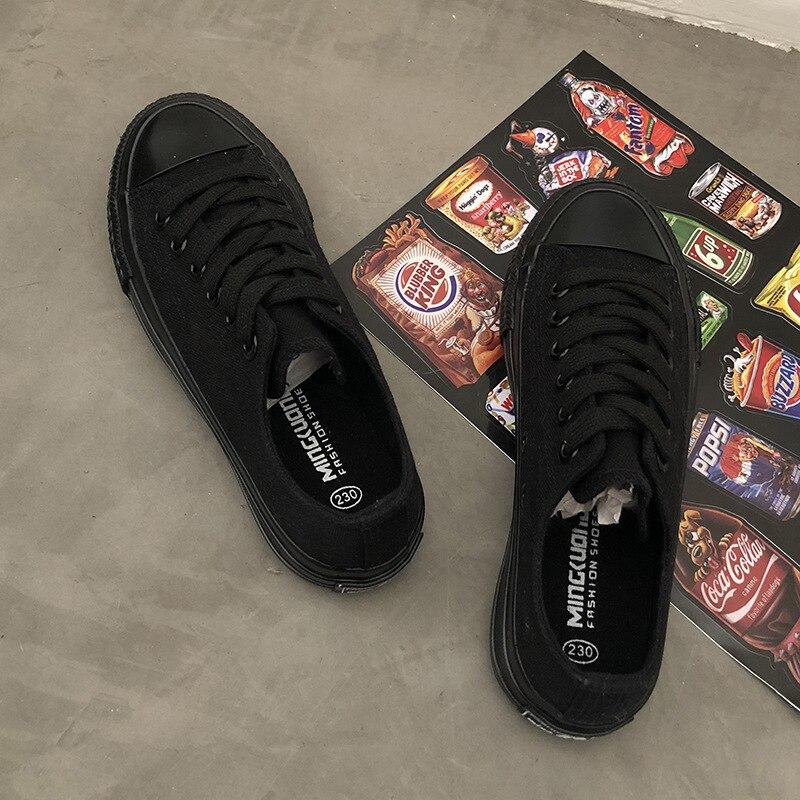 2020 spring Fashion Canvas Shoes Female Wild Autumn Flats Non-slip Sneakers Comfortable Flat Casual Women's Vulcanized J13-81