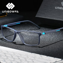 Optical Computer Glasses Frame Men Myopia Anti Blue Light Blocking Eyeglasses Frame Prescription Clear Korea Gaming Eyewear TR90