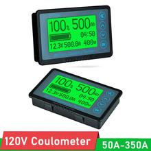 Coulometer Monitor DC 120V 100A 350A 500A Tester pojemności miernik RV elektryczny skuter Lifepo4 kwasowo-ołowiowe litowo-jonowe kable rozruchowe tanie i dobre opinie ELECTRICAL NONE CN (pochodzenie) Li-ion lithium Battery 50a-500a electric Scooter Capacity METER Lifepo4 lead-acid