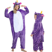 Family Matching Pajamas Outfits Winter Hooded Pegasus Unicor