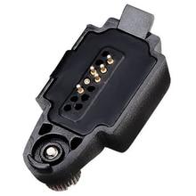 محول صوت Retevis لـ HD1 GP328Plus RT29 RT48 RT82 موصل لـ Kenwood 2 دبوس