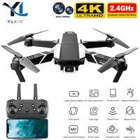 Nuevo S62 drone 4K Cámara dual de HD WiFi Fpv de presión de aire de alto mantenimiento vuelo de larga distancia plegable drone RC Quadcopter drone